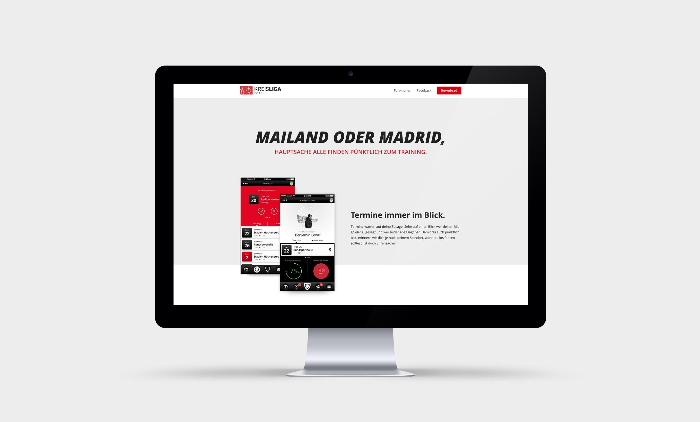 Kreisliga Website